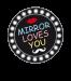 Mirror Loves You Photobooth concept γάμου