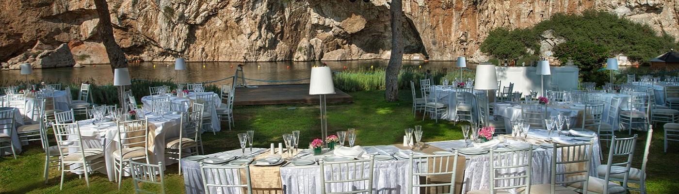 Δεξίωση Γάμου Λίμνη Βουλιαγμένης Παραλιακή