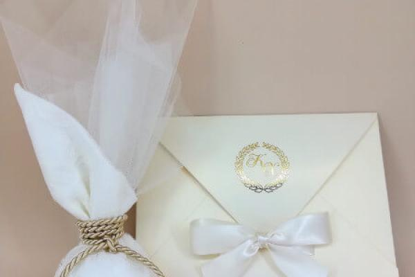 Προσκλητήρια & Μπομπονιέρες γάμου CHARISISLUXPRINT
