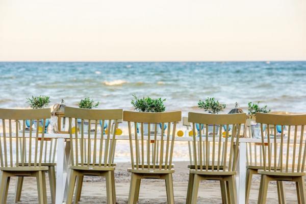 Γαλάζια Ακτή - γάμος σε παραλία Μαραθώνας
