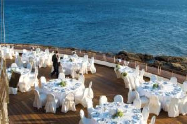grand resort Λαγονήσι δεξίωση σε ξενοδοχείο