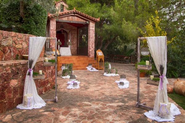 Κτήμα Μπραϊμνιώτη Δεξίωση Γάμου Κορωπί