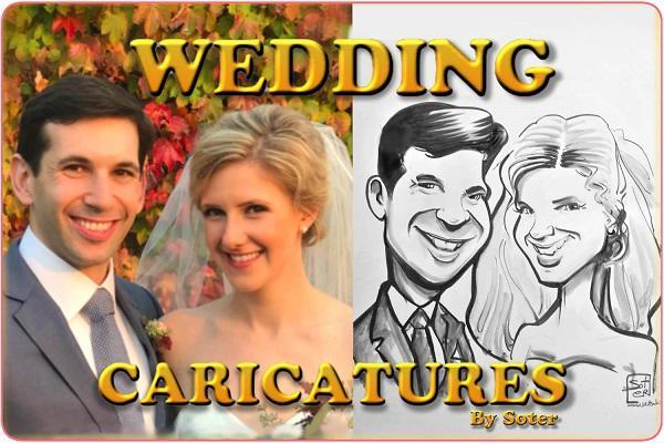 Καρικατούρες για γάμο Skitso.biz - Soter