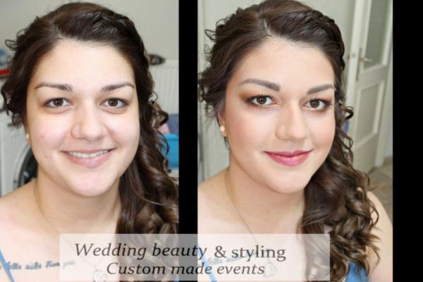 Wedding Beauty and Styling Νυφικό Μακιγιάζ