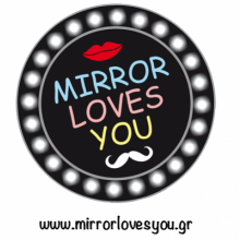 Mirror Loves You Photobooth concept γάμου