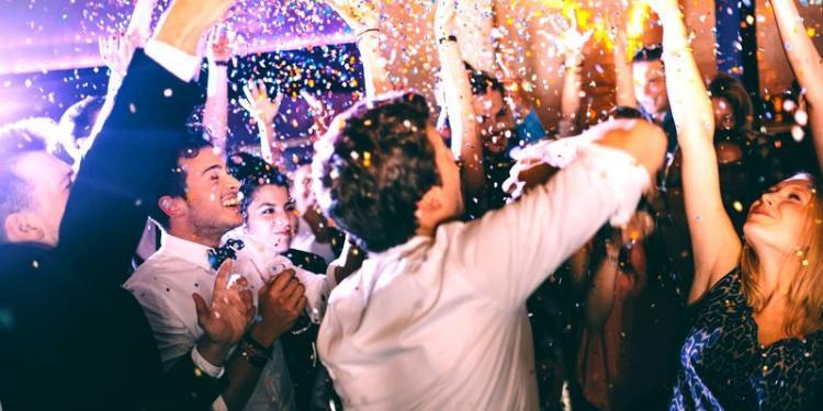 Πρωτότυπο πάρτι γάμου