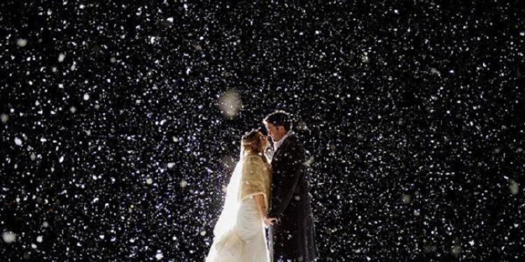 γάμος στα χιόνια